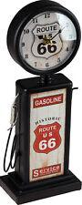 34cm Retro Petrol Pump Gasoline Novelty Standing Clock Ornament