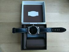 LG W150 Urbane SmartWatch with Leather Band - Silver/Black
