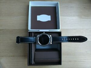 LG W150 Urbane SmartWatch with Leather Band - Silver/Black,Good deal,Final sale!