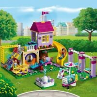 Friends Heartlake City Playground 41325 341 Pcs Building Block Brick non lego