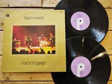 DEEP PURPLE MADE IN JAPAN LP 33T VINYLE EX COVER EX ORIGINAL 1974 GATEFOLD