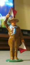 BARCLAY FLAG WAVING BOY SCOUT EXCELLENT CONDITION