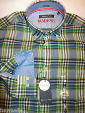 Marco O'Polo 39/40 15,5  M - Madras TF- Button Down sportlich 69.90 €     0222