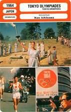 FICHE CINEMA : TOKYO OLYMPIADES - Bikila,Douglas Ichikawa 1964 Tokyo Olympiad