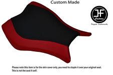 D Rojo Negro Vinilo personalizado para Honda CBR 1000 RR 13-15 Fireblade Cubierta de asiento delantero