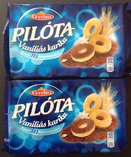 Pilota Vanella Sweet Crackers in Milk Chocolate Gyori Vanilias Karika 2 x 150g
