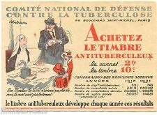 CROIX ROUGE. comité national de défense contre la tuberculose. Jules-Abel FAIVRE