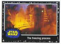 2015 Star Wars Journey To The Force Awakens Black #56 The freezing process Topps