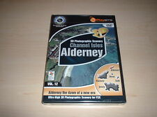 ✈️ ALDERNEY CHANNEL ISLES PHOTO SCENERY ~ FLIGHT SIMULATOR X FSX ADD-ON *NEW*
