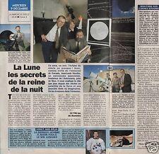 Coupure de presse Clipping 1992 La Lune reine de la nuit (1 page 1/2)