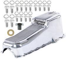 SBC Polished Billet Aluminum Engine Dipstick W// Tube 55-79 Small Block Chevy 350
