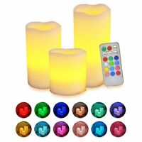 Flameless LED Tea Light Candles Remote Control Battery Operated for Wedding Vase