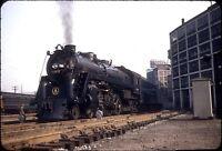 BEAUTIFUL STEAM - B&O BALTIMORE & OHIO RR P7 PACIFIC #5315 @ PHILADELPHIA 1953