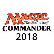 Commander 2018 Decks OVP Sealed MTG Magic the Gathering De