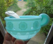 Fisher Price 77865 Musical Tea Set Replacement 2000 Holes Cup Blue White Spoon 2