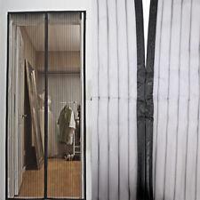 Fliegengitter Moskitonetz Insektenschutz für Türen Magnetverschluss 90 x 210 cm