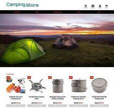 Established Profitable Camping Store Turnkey Dropship Website Business For Sale