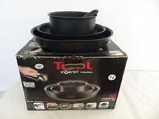 Tefal Ingenio Induction Frying Pan and Saucepan Set, 4 Piece