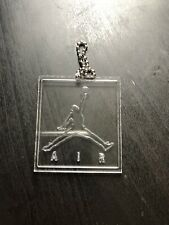 2x Nike Air Jordan Hangtag Keychain Shoe Tag Acrylic Jumpman 2For 1 Free Shiping