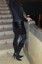 Schöne Stiefel von TJ COLLECTION Gr. 36 schwarz, Echtleder.