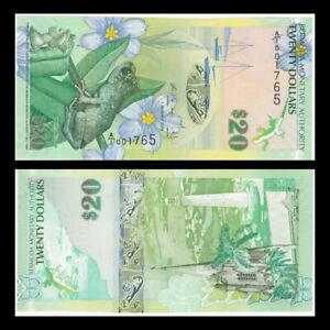 Bermuda 20 Dollars, 2009(2013),  P-60b, Banknote, UNC
