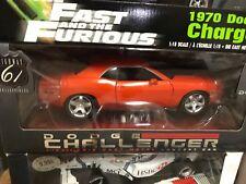 Highway 61 2006 Dodge Concept Challenger Orange 1:18 Scale