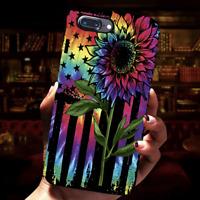 Tie Dye Sunflower Flag LGBT Pride Phone Case Iphone 11 Pro X Xr Xs Max 8 7