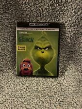 How the Grinch Stole Christmas (4K Ultra Hd + Blu-Ray + Digital) New Sealed