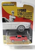 1:64 Greenlight Ford T5 German Edition 1965 red NEW bei PREMIUM-MODELCARS
