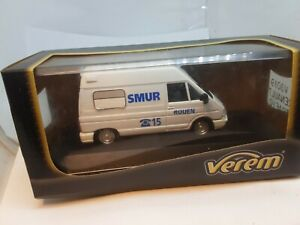 renault  trafic ambulance SMUR rouen verem 1/43