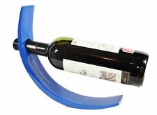 Bermoni® HANDMADE LACQUERED BAMBOO WINE BOTTLE DISPLAY HOLDER - DARK BLUE