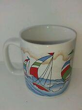 Sailboat Sailing Collectible Coffee Mug Boats Boating