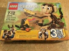 Lego Creator 3 in 1 Forest Animals 31019 New in sealed box Retired 272 pieces