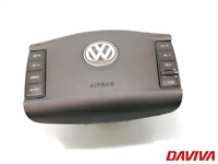 VW TOUAREG MK1 2002-2010 DRIVERS STEERING WHEEL AIR SRS BAG 7L6880201CP
