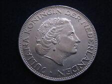 "MDS Países Bajos 2 1/2 florines 1962 ""Juliana"", plata"