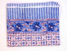Indian Cotton Block Printed Sarong Swimsuit Pareo Hijab Scarf Beachwear Bikini