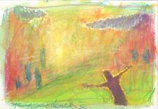 """Original drawings 5""""x7"""" Pedagogical Sketchbook 2.  mixed media"""