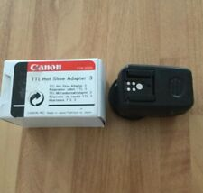 Canon TTL Hot Shoe Adapter 3 Boxed