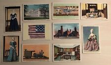 Lot of 10 US National Museum Smithsonian Institution Vintage Postcards
