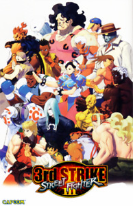 Art Poster FAST SHIPPING 32in x 22in Street Fighter Third Strike
