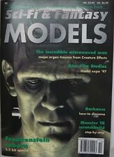 Sci-Fi & Fantasy Models Magazine Issue 23 Oct 1997 Frankenstein Reborn