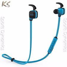 Bluedio CCK KS Bluetooth 4.1 Wireless Sports Earphone Cordless Headphones, Blue
