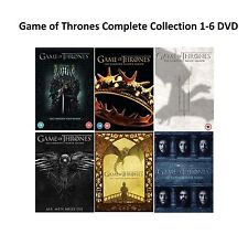Game of Thrones Complete Collection 1-6 DVD All Seasons 1 2 3 4 5 6 UK Rel R2