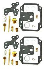 Two Carburetor Rebuild Rebuild Kits TX650A XS650B BS38 Mikuni Carb 74-75