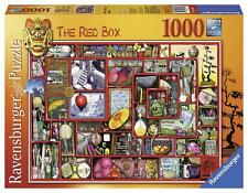 Ravensburger 19398 colin thompson red box 1000 pieces jigsaw puzzle game