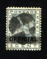 BRITISH GUIANA Sc O 6 Used - VF