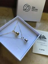 Capri catenina campanella in argento 925%