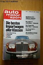 AMS Auto Motor Sport 7/79 Saab 900 Turbo Jaguar XJ Kremer Porsche R30 TX