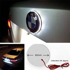 1x White LED Emblem Logo Hood Light For BMW 1 3 5 6 7 X1 X3 X5 Z M3 M5 M4 Series