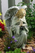 "Kneeling 12"" PRAYING ANGEL GARDEN STATUE Pet Person Memorial ~ NICE!"